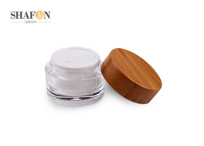 Refillable 5g Empty Cosmetic Jars For Face Cream Pp Material Injection Color
